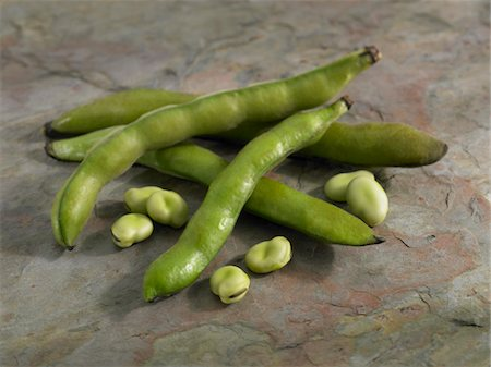slate - Fava Bean Pods Stock Photo - Premium Royalty-Free, Code: 6106-05788099