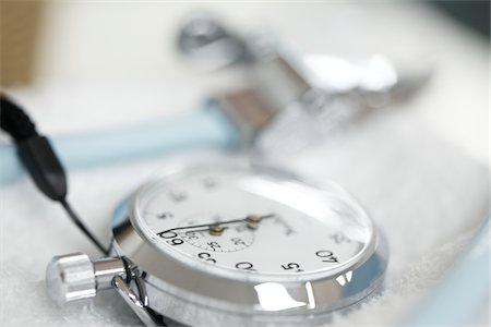 stop watch - stopwatch,hospital Stock Photo - Premium Royalty-Free, Code: 6106-05788399