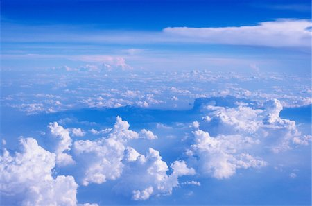 fluffy - Clouds, Heaven Stock Photo - Premium Royalty-Free, Code: 6106-05810343