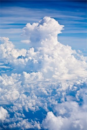 fluffy - Clouds, heaven Stock Photo - Premium Royalty-Free, Code: 6106-05810351