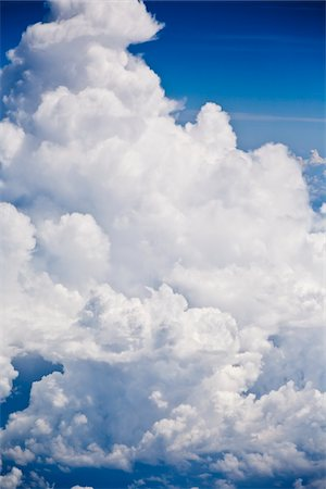 fluffy - Clouds, heaven Stock Photo - Premium Royalty-Free, Code: 6106-05810352