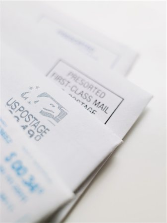 stamp - Mail Stock Photo - Premium Royalty-Free, Code: 6106-05810317