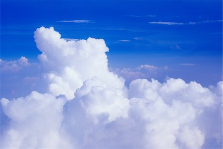 fluffy - Clouds, Heaven Stock Photo - Premium Royalty-Free, Code: 6106-05810339