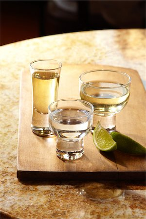 Glasses of Tequila Stock Photo - Premium Royalty-Free, Code: 6106-05951540