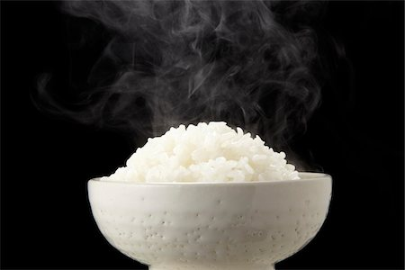 Rice and steam Stock Photo - Premium Royalty-Free, Code: 6106-05952274
