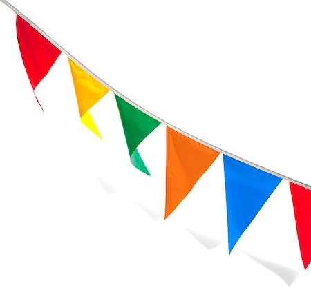 pennant flag - penant flags Stock Photo - Premium Royalty-Free, Code: 6106-06308546