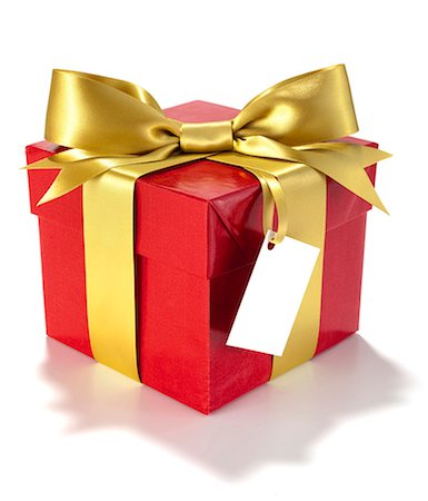 present wrapped close up - gift box Stock Photo - Premium Royalty-Free, Code: 6106-06308562