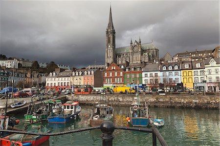 Cobh, County Cork, Ireland. Stock Photo - Premium Royalty-Free, Code: 6106-06335466