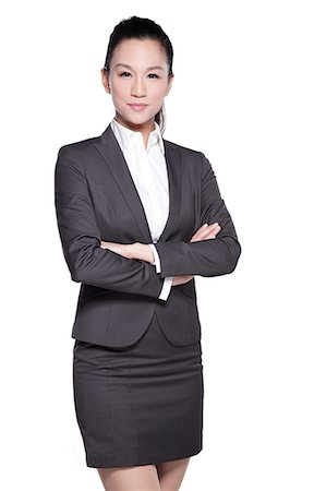 Beautiful Businesswoman Stock Photo - Premium Royalty-Free, Code: 6106-06496772