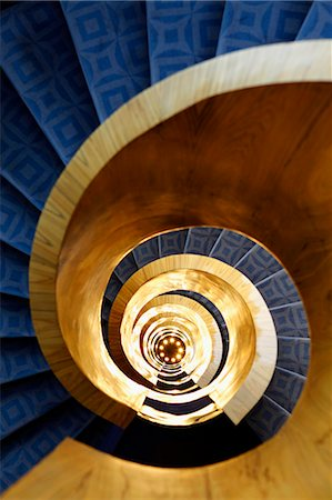 spiral - Spiral stairs. Stock Photo - Premium Royalty-Free, Code: 6106-06433856