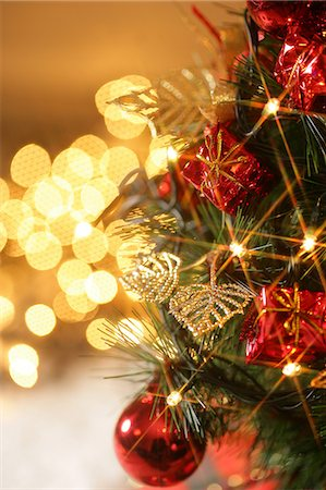 Christmas decorations Stock Photo - Premium Royalty-Free, Code: 6106-06433804