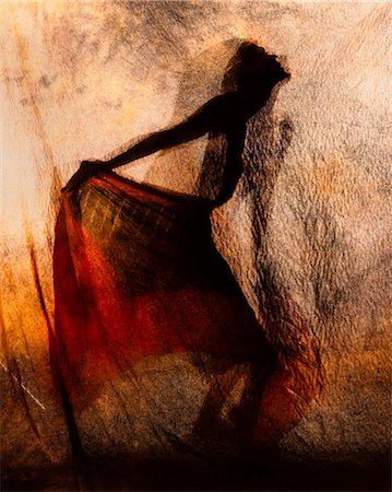 Shadow Dancing Stock Photo - Premium Royalty-Free, Code: 6106-06434153