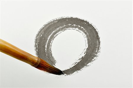 The circle that drawing with India ink Stock Photo - Premium Royalty-Free, Code: 6106-06535549