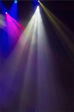 Stage Lights Stock Photo - Premium Royalty-Free, Code: 6106-06536388