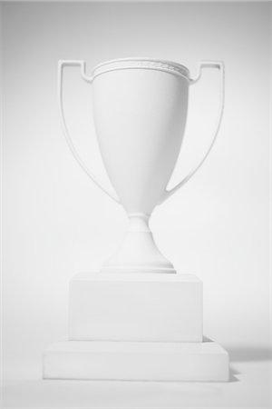 White Trophy Stock Photo - Premium Royalty-Free, Code: 6106-06536623
