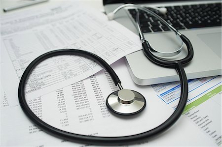 Medical and financial Stock Photo - Premium Royalty-Free, Code: 6106-06831247