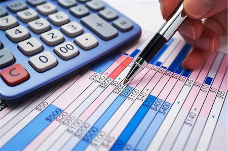 Finance check-up Stock Photo - Premium Royalty-Free, Code: 6106-06831226