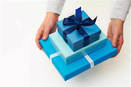 Beautiful gifts Stock Photo - Premium Royalty-Free, Code: 6106-06831231