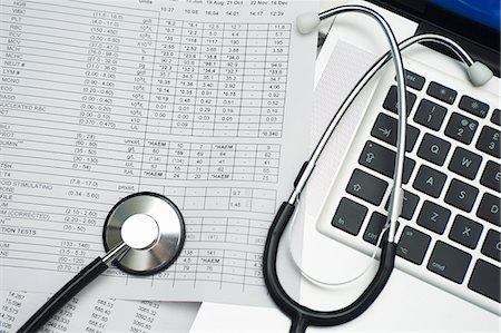 Medical records Stock Photo - Premium Royalty-Free, Code: 6106-06831239