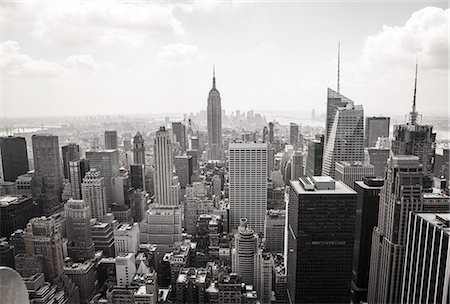New York Skyline Stock Photo - Premium Royalty-Free, Code: 6106-06831458