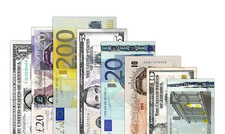 Banknotes Stock Photo - Premium Royalty-Free, Code: 6106-06831439