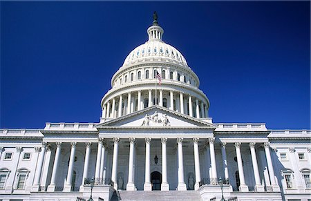 US Capitol Building, Washington DC, USA Stock Photo - Premium Royalty-Free, Code: 6106-07069915