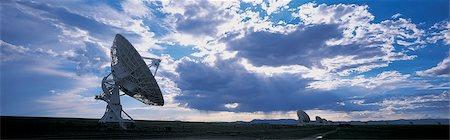 radio telescope - Radio Telescopes, Very Large Array, National Radio Astronomy Observatory, New Mexico, USA Stock Photo - Premium Royalty-Free, Code: 6106-07002795