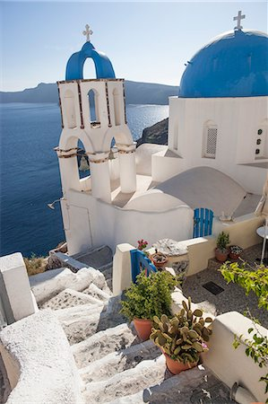 Santorini Greece Stock Photo - Premium Royalty-Free, Code: 6106-07029460