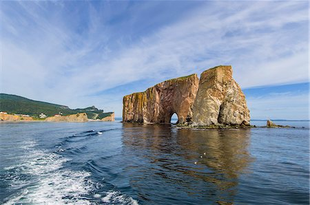 rock - Boat tour around the rock of Percé Stock Photo - Premium Royalty-Free, Code: 6106-07120113