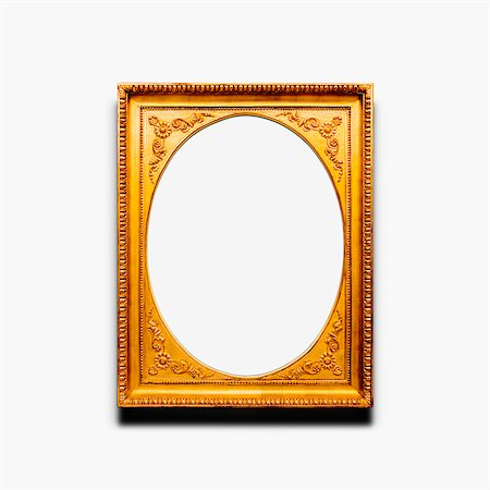 Ornate Picture Frame Stock Photo - Premium Royalty-Free, Code: 6106-07121598