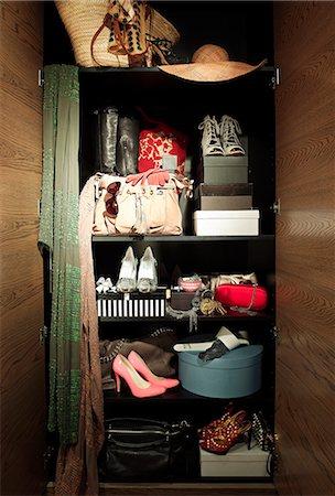 wardrobe full of goodies Stock Photo - Premium Royalty-Free, Code: 6106-07202784
