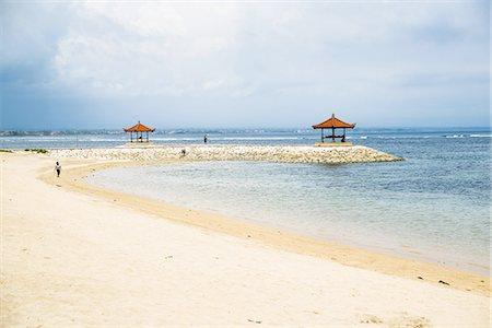 Sanur Beach, Sanur, Bali Stock Photo - Premium Royalty-Free, Code: 6106-07350049