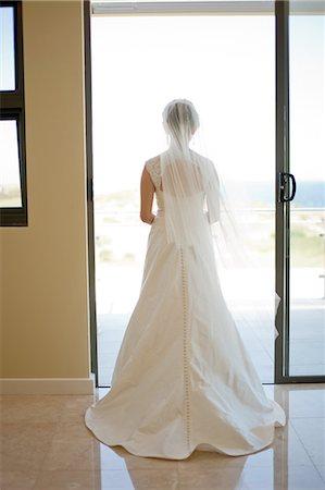 Bride sillouette Stock Photo - Premium Royalty-Free, Code: 6106-07350816