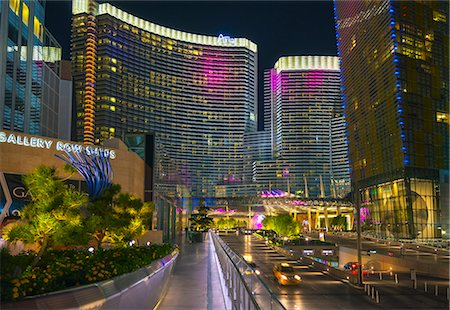 Las Vegas, The Strip, CityCenter, Aria Resort Stock Photo - Premium Royalty-Free, Code: 6106-07455141
