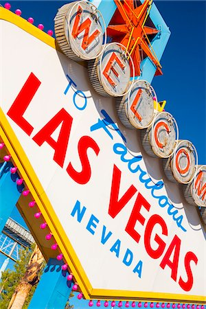 "Las Vegas, ""Welcome To Fabulous Las Vegas"" Sign Stock Photo - Premium Royalty-Free, Code: 6106-07455126"