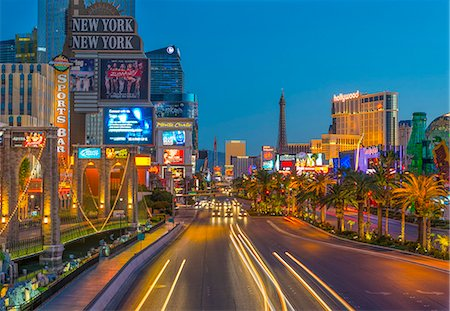 Las Vegas, The Strip, CityCenter, Aria Resort Stock Photo - Premium Royalty-Free, Code: 6106-07455136