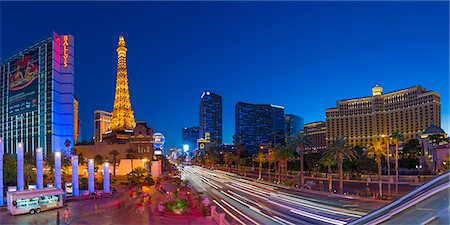 Las Vegas, The Strip, CityCenter, Aria Resort Stock Photo - Premium Royalty-Free, Code: 6106-07455138