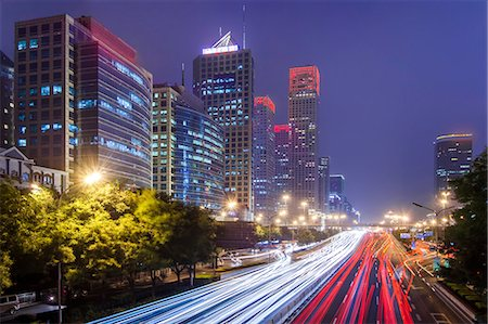 cityscape of Beijing CBD area Stock Photo - Premium Royalty-Free, Code: 6106-07455255