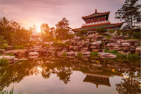 historic style garden in 2013 China Garden Expo Stock Photo - Premium Royalty-Free, Code: 6106-07455261