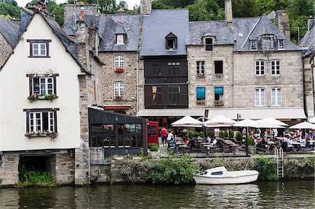 Dinan, Brittany, France Stock Photo - Premium Royalty-Free, Code: 6106-07493036