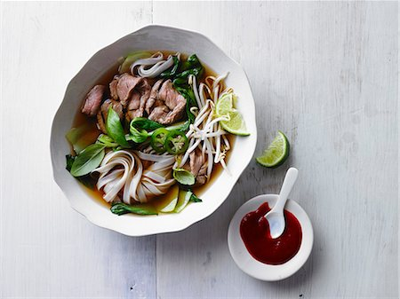 VIETNAMESE Beef Noodle Soup Stock Photo - Premium Royalty-Free, Code: 6106-07493141