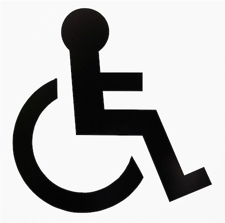 symbol - Handicap sign. Stock Photo - Premium Royalty-Free, Code: 6106-07493318