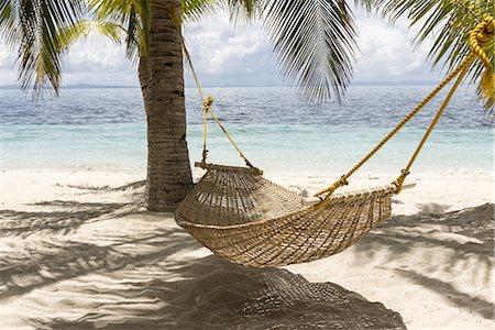 Hammock, Malapasqua, Philippines Stock Photo - Premium Royalty-Free, Code: 6106-07493446