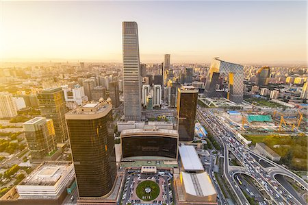 Beijing CBD area Stock Photo - Premium Royalty-Free, Code: 6106-07493523