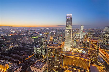 Beijing CBD area Stock Photo - Premium Royalty-Free, Code: 6106-07493526