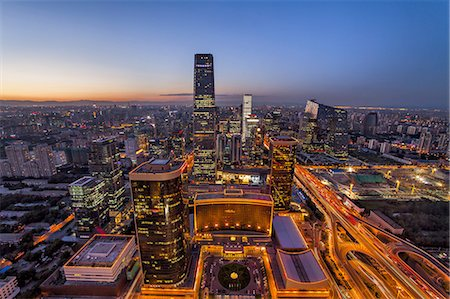 Beijing CBD area Stock Photo - Premium Royalty-Free, Code: 6106-07493528