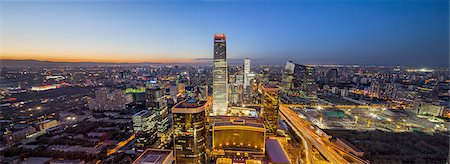 Beijing CBD area Stock Photo - Premium Royalty-Free, Code: 6106-07493534