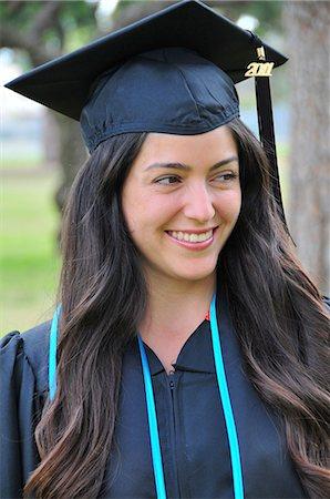 Happy Hispanic women college graduate Stock Photo - Premium Royalty-Free, Code: 6106-07493789