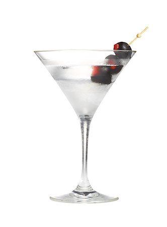 Martini with Black Olives Stock Photo - Premium Royalty-Free, Code: 6106-07594274