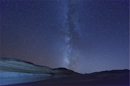 space - Starry Sky and Milky Way Stock Photo - Premium Royalty-Free, Code: 6106-07594856